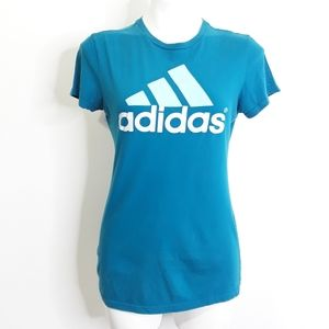 Adidas Short Sleeve Iconic Logo Graphic T-shirt